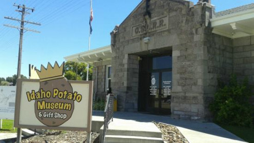 Idaho Potato Museum Building