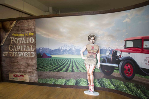 Exhibit At Idaho Potato Museum