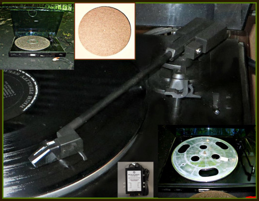 Over 80 years of experience and know-how when into the creation of this Curtis Mathes  C-155 belt driven turntable.