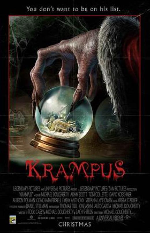 """""""Krampus"""" (2015) poster"""