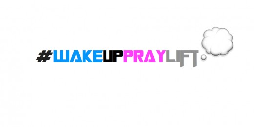 Wakeuppraylift official logo.
