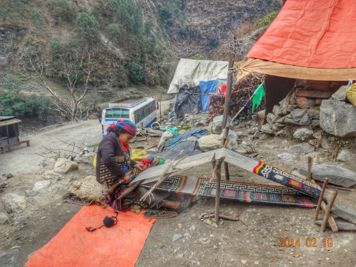 Local Occupation on way to Bajura