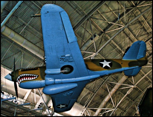 World War II Plane Exhibit At National Air And Space Museum
