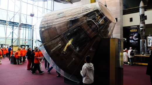 Space Capsule At National Air And Space Museum