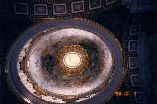 ANOTHER DOME IN ST. PETERS