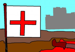The Crusades! horror dating back over 500 years.