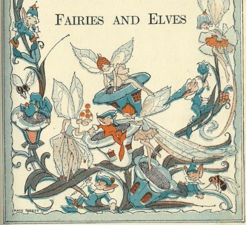 Graphic from an out-of-copyright book.  Lots of children's stories have fairies and good illustrations to give you ideas to make your own costume.
