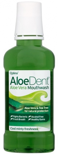 For your dental heath, Aloe Vera can freshen your mouth without the irritation other mouthwashes would bring.