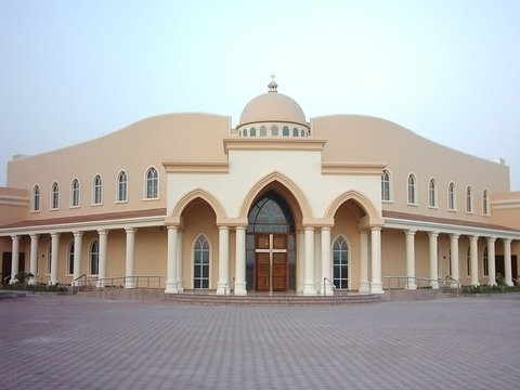 church in Abu Dhabi
