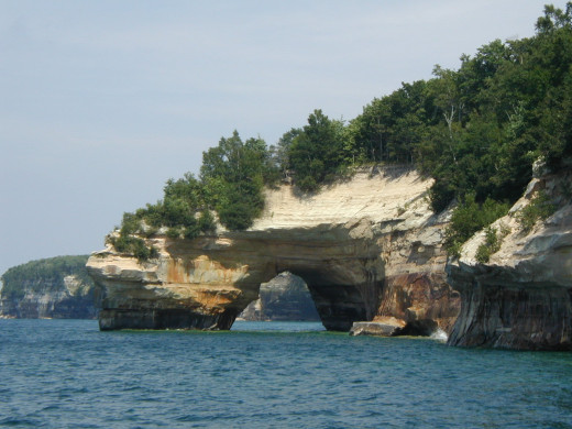 Rocks National Lakeshore one of many natural attractions in the UP