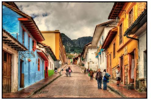 Candelaria, down town Bogota