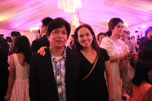 Power couple of Simong Lawog (Thy Face), Edgar 'Egay' & Joannah Burac-Ramores Photo Source: Joannah Burac-Ramores