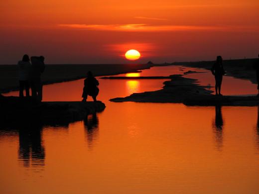 Sunset - Tunisian Desert