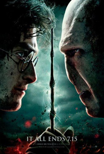 "Promotional poster for ""Harry Potter And The Deathly Hallows: Part Two"""
