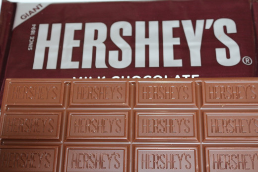 You never have enough of Hershey's
