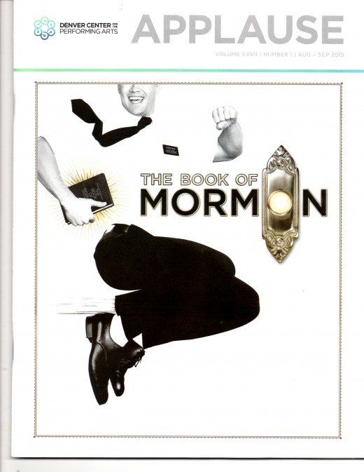 Playbill Cover of The Book of Mormon