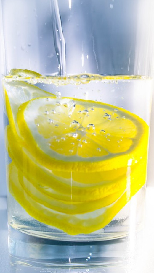 Lemon in water - one great form of alkaline water. Could this be all you need? Some claim not.