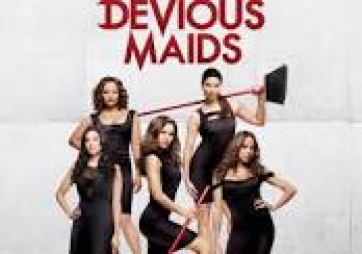 Devious Maids a show I have been watching online recently.