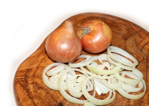 Spanish onion is great in the following recipe. Use any of your favorite white onions.