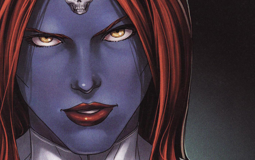 """Oh, I'm sorry, Mystique."""