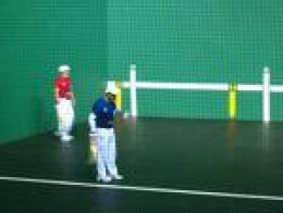Jai-alai is a fast and colourful game where betting is the norm