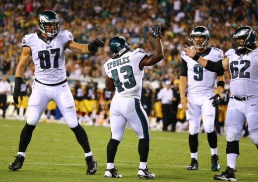 Eagles Por Bowl Returner Darren Sproles