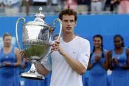 Andy Murray Wins Queen's
