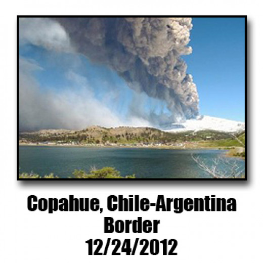 Located on the Chile/Argentina border this volcano sits on a hug tectonic fault line.