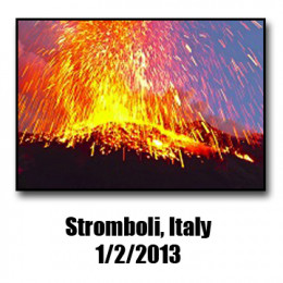 The Stromboli volcano has been erupting for the better part of a decade, with no signs of stopping anytime soon.