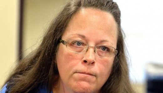 County Clerk Kim Davis.