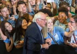 Sanders Overflows NC Venue; An Unlikely Candidate No More.