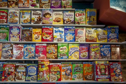 "Have you checked the ingredients of these cereals? Even the ""added vitamins"" in some of them will not do much for your health."
