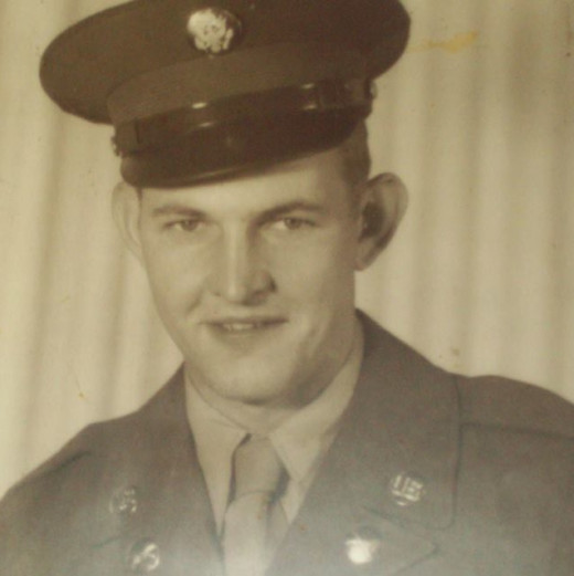 This is a picture of my dad. PFC Ralph K. Madison, Korean War veteran. Much of who I am today is from the influence my dad had on me.