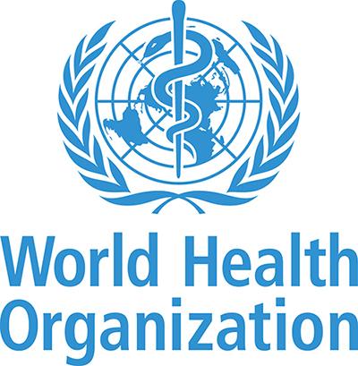 World Health Organization or WHO logo