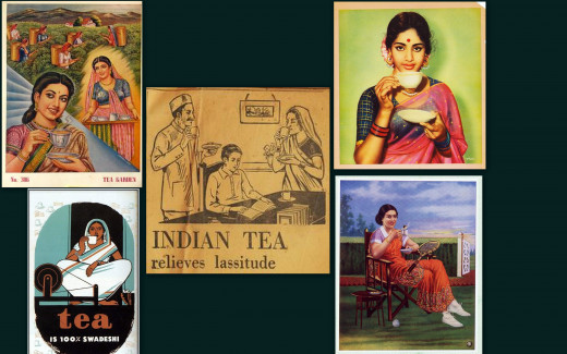 Vintage Indian Tea Advertisements