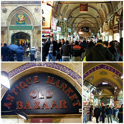 One can easily get lost when shopping at Istanbul's Grand Bazaar. It is really really huge. Bargaining there is a big challenge too.