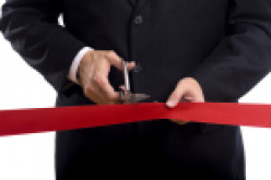 Every event, or new building, should be opened by cutting the red ribbon