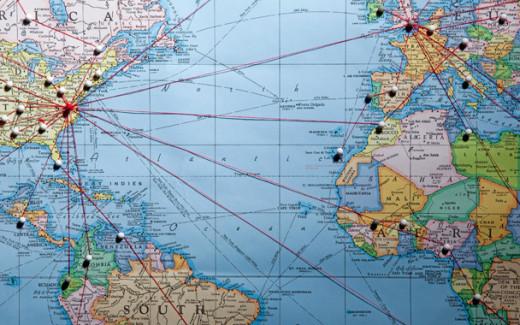 My trip takes me to several cities, including Miami, London, Dubai, Dhahran, Bangkok.