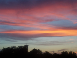 God's own promise, written in the beauty of the skies...