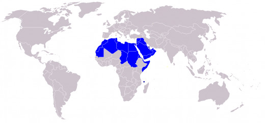 Where Arabic is the sole language or predominately spoken