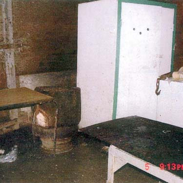 The slaughterhouse in which Pickton was accused of butchering women and Mona Wilson's partial remains were found