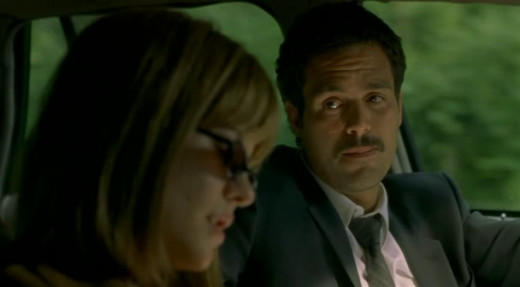 Ruffalo's good looks are undone by his awkward-looking moustache