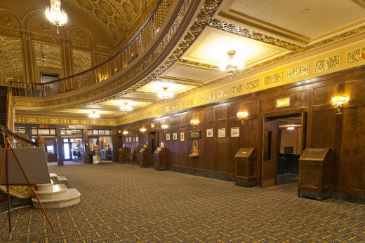 Historic Michigan Theater in Ann Arbor, Michigan.