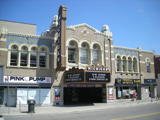 The Historic Michigan Theater in Ann Arbor