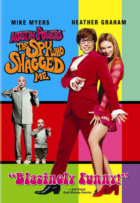 """DVD cover for """"Austin Powers: The Spy Who Shagged Me"""""""