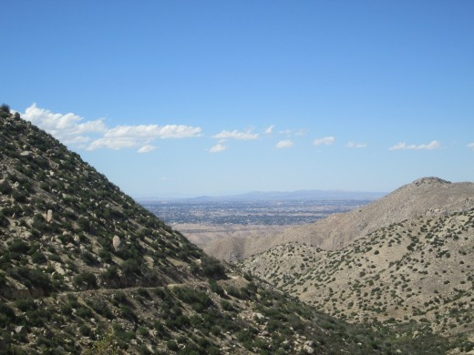 By zooming in the view of Hesperia is visible.