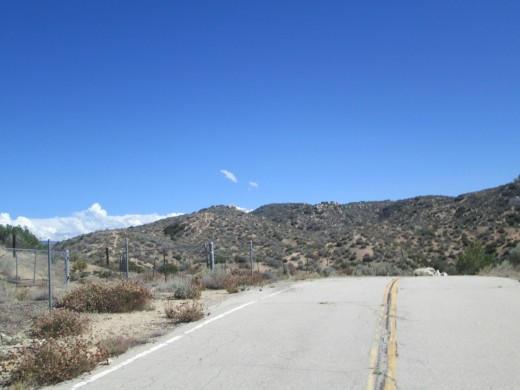 The paved segment of the road means it is time to head back to civilization. However, I hope to go hiking up in the San Bernardino Mountains again soon. It is always nice to see the north side of the mountain headed down towards Hesperia.