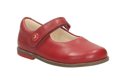Bonnie Boo Fst Red Leather Girls' Shoes - I kept mine by my bed for a week!