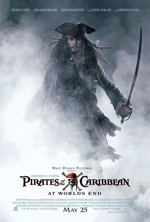 "Poster for ""Pirates Of The Caribbean: At World's End"""