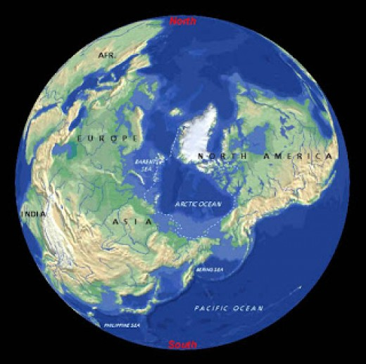 According to some data the new North Pole could be located off the eastern coast of present day Brazil.